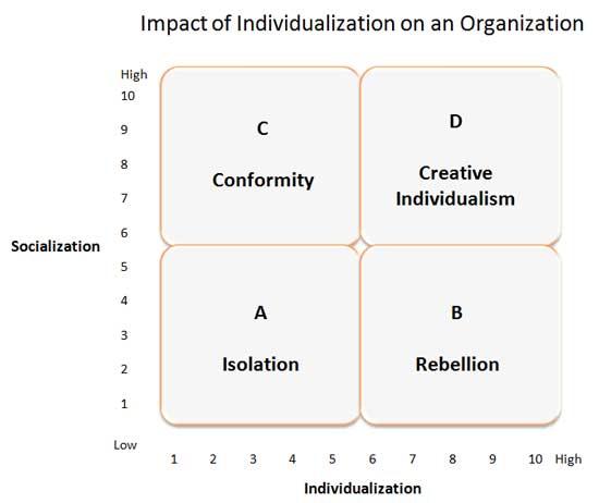 Impact of Individualization on an Organization